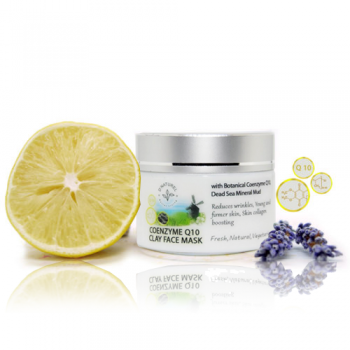 q10 organic anti-aging face mask