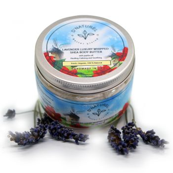 organic lavender shea body butter