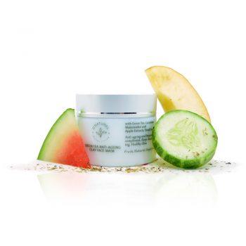 natural green tea anti-ageing face mask