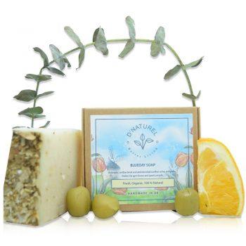 organic blueday sports soap