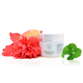 natural stem cell active face mask