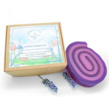 natural lavender glycerin soap