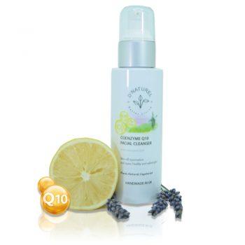 natural coenzyme q 10 facial cleanser