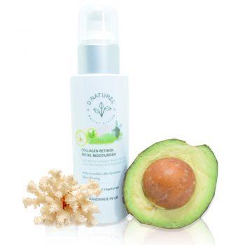 natural collagen retinol facial moisturiser