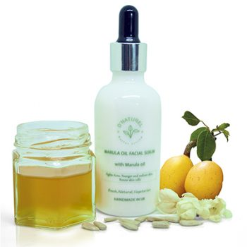 natural marula oil facial serum
