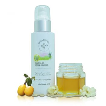 natural marula oil facial cleanser