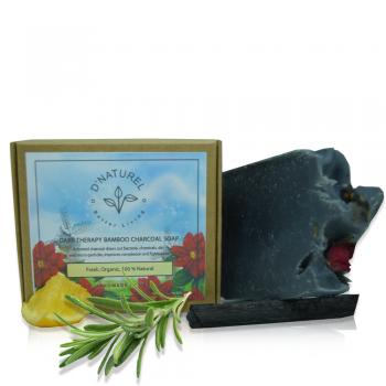 organic bamboo charcoal soap
