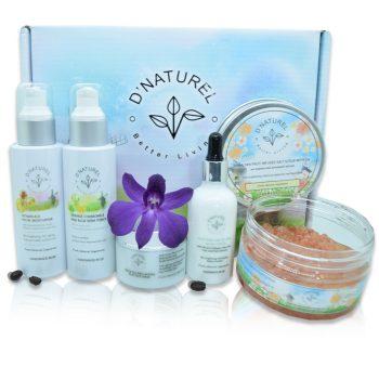 natural skin brightening set