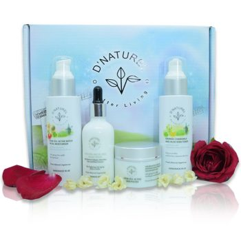 natural anti-ageing skincare set