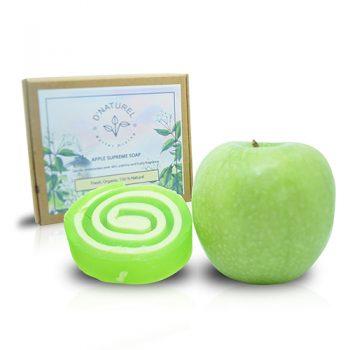natural green apple soap
