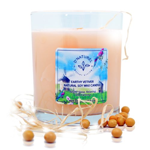 natural soy wax candle, natural scented candle