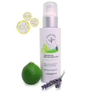 natural coenzyme q10 body and hand lotion