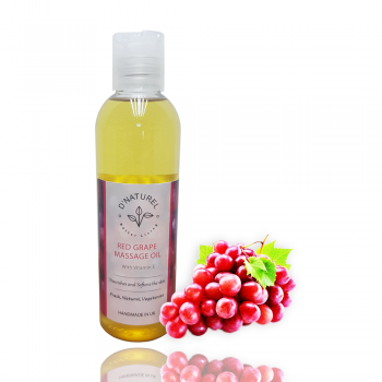RED GRAPE MASSAGE OIL